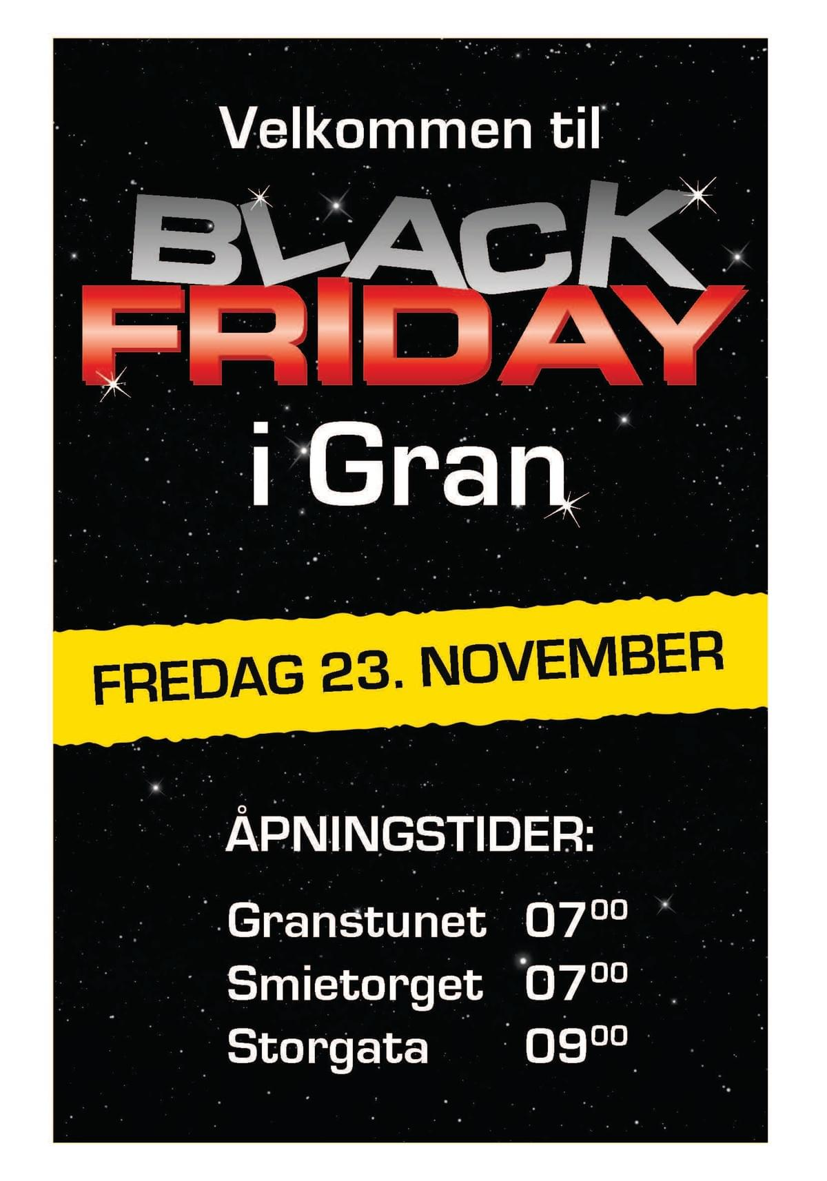 Black Friday November 2018