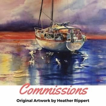 Commissions by Heather Rippert, Master Painter, Artist, Watercolorist