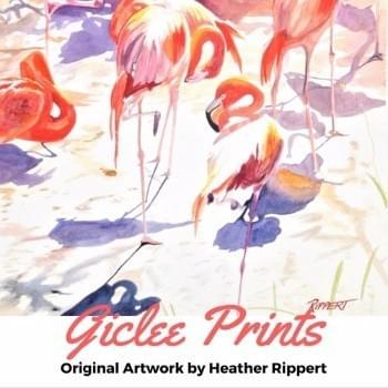 Giclee Prints by Heather Rippert, Master Painter, Artist, Watercolorist
