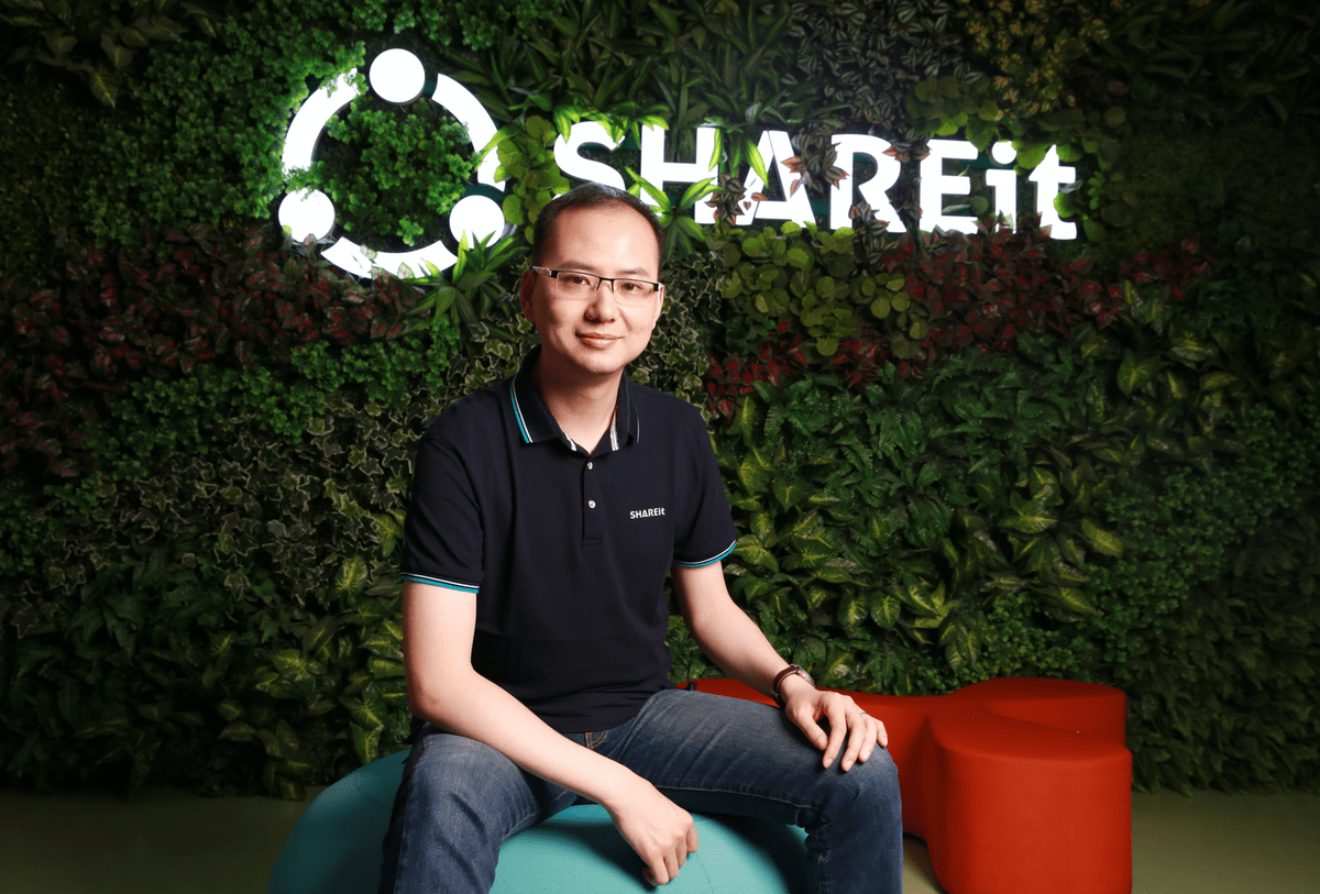 shareit coo jacky wang