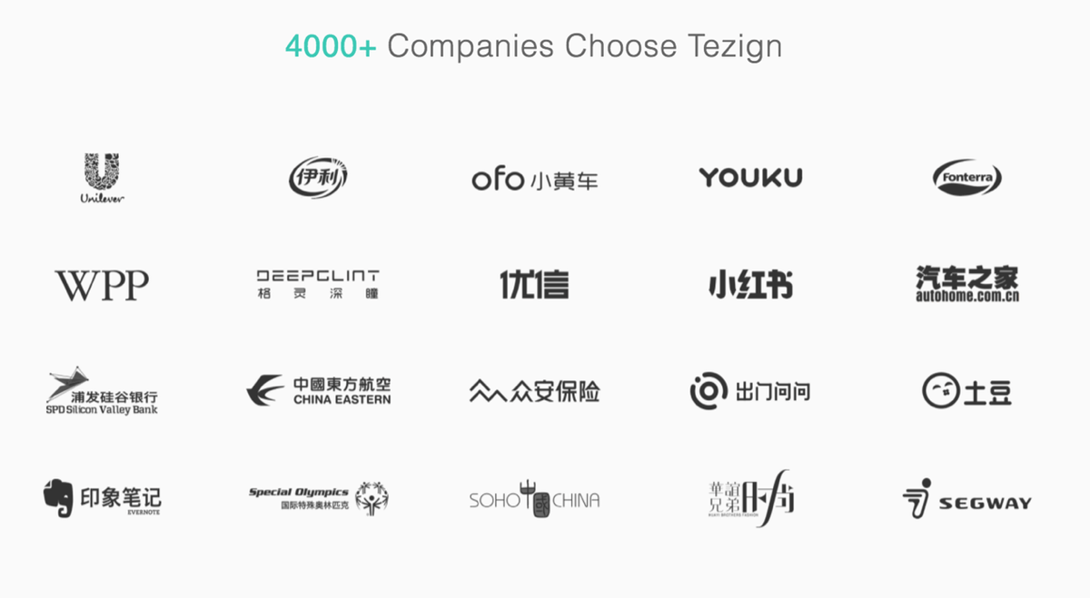 Tezign's Clients