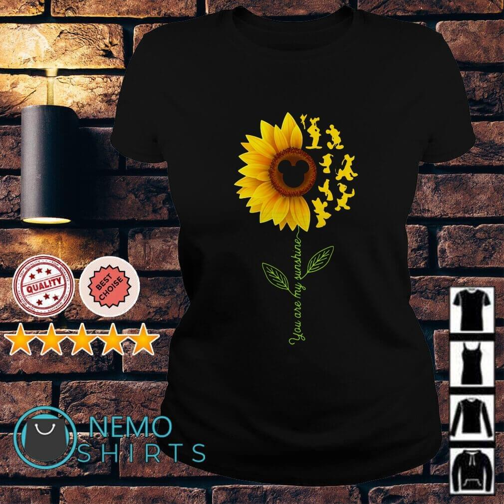Disney sunflower you are my sunshine shirt