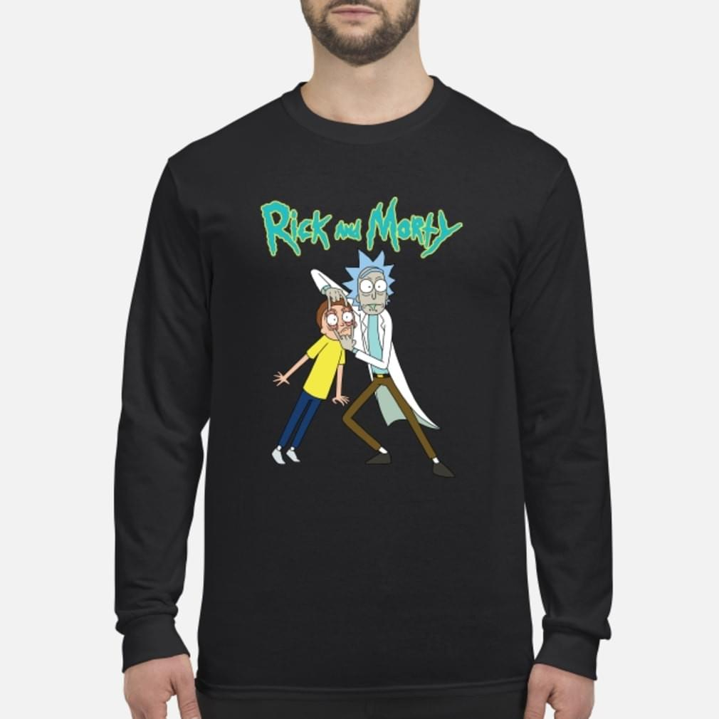 Rick & Morty Eyes Open Adult T-Shirt