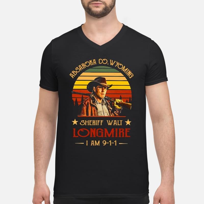 LIMITED EDITION] Absaroka Sheriff Walt longmire I am 911 t shirt