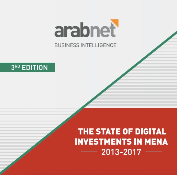 Screenshot of the report by Arabnet