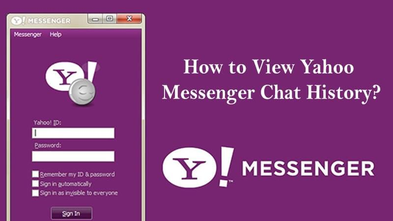 How To View Yahoo Messenger Chat History