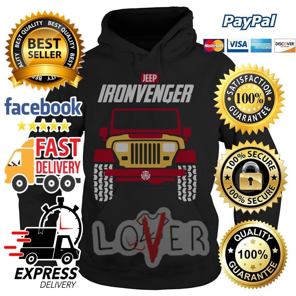 Marvel Avengers Endgame Jeep Iron Avengers shirt