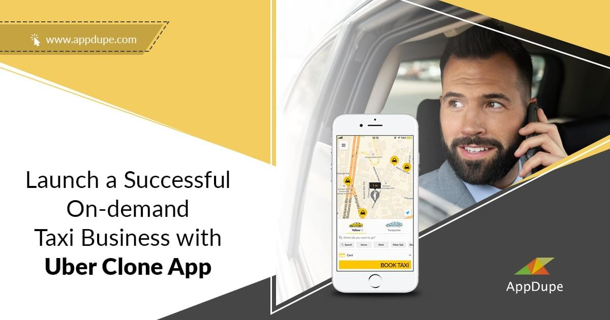 Launch on-demand taxi business