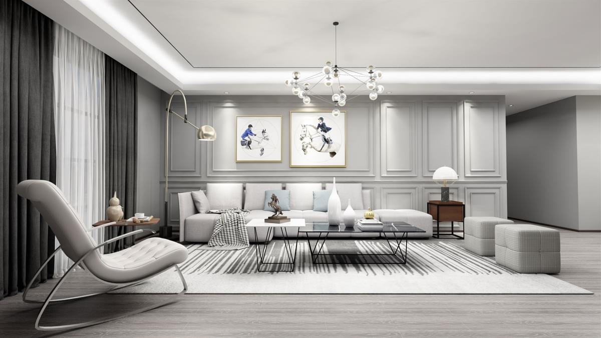 三室二厅 装修方案 设计