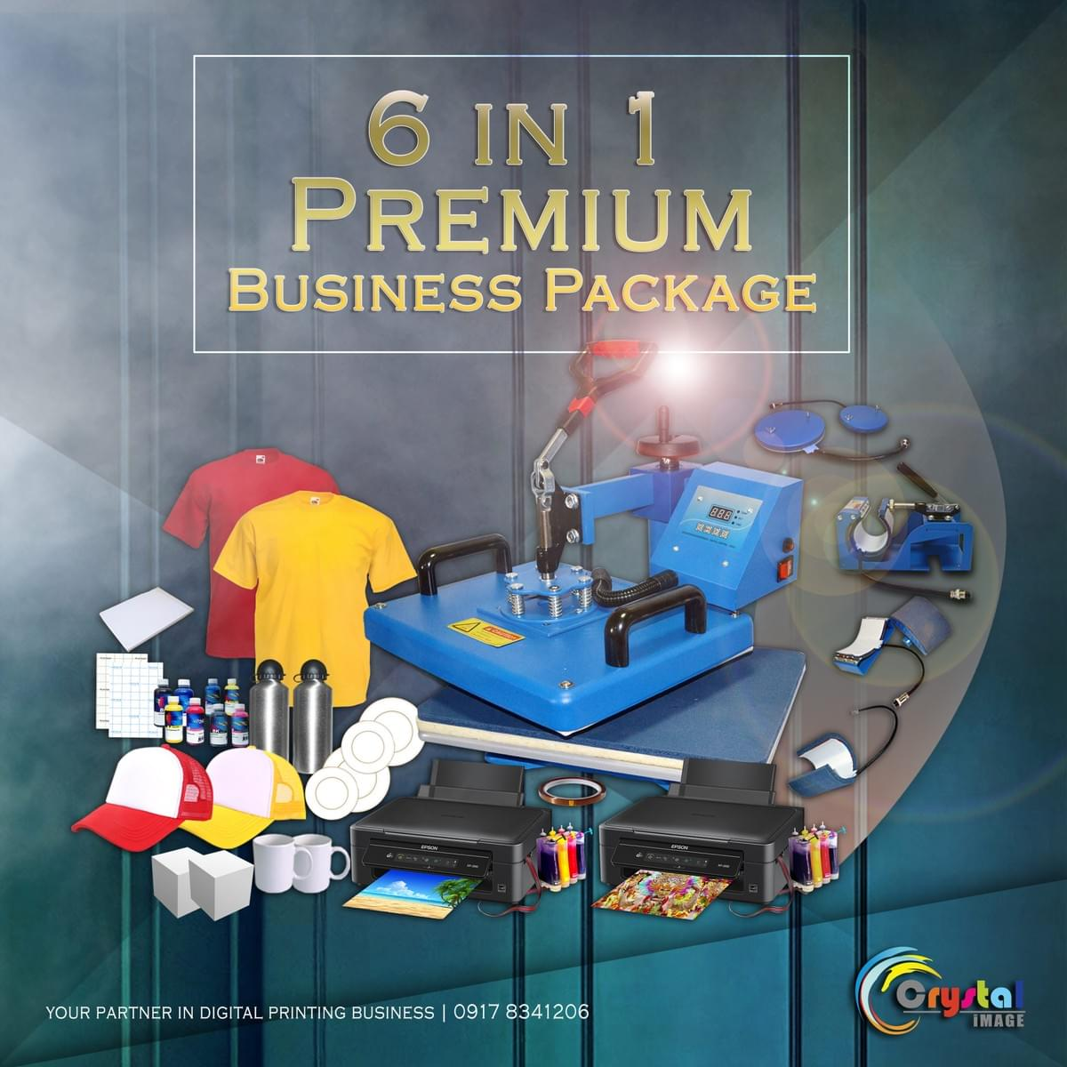 Sublimation printing guide Philippines, 6in1 Printing Package Supplier