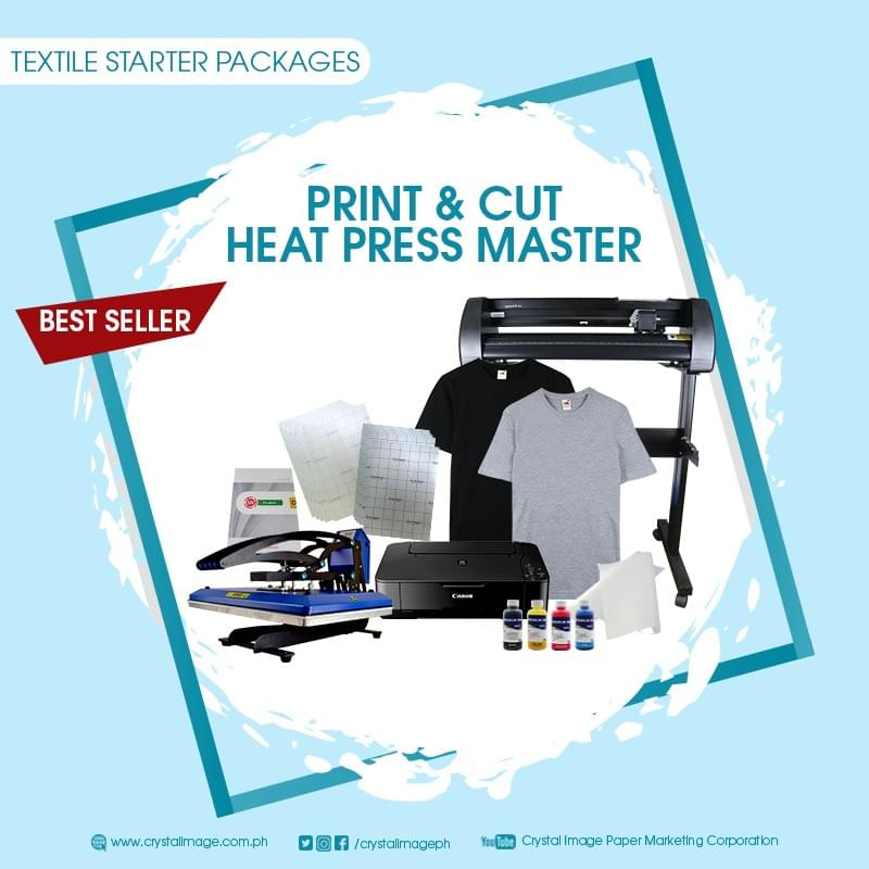 Heat press machine for T-shirt printing business supplier, Printing Business Package