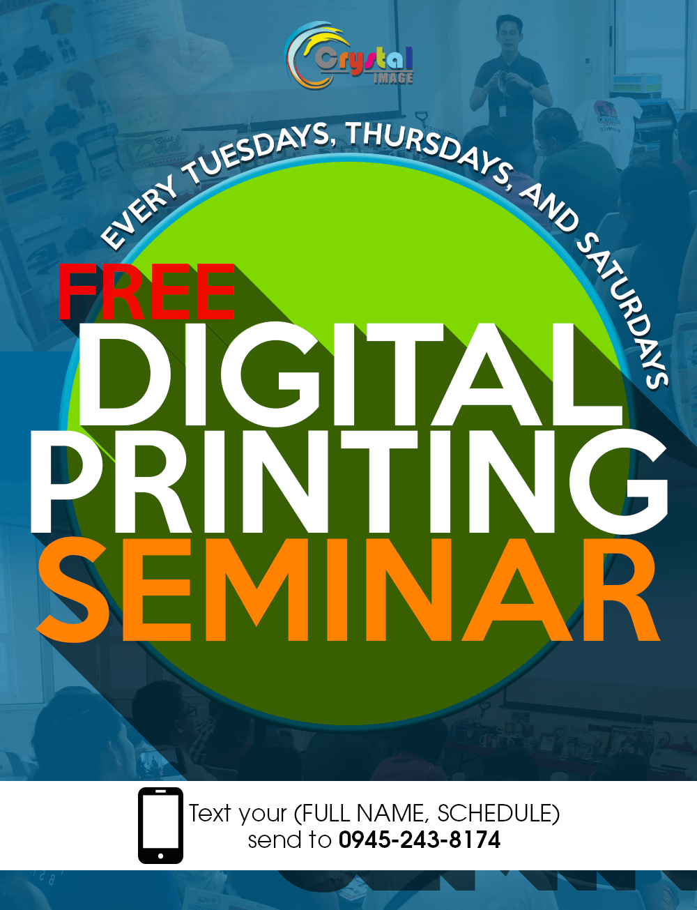 Free Seminar, Free Digital Printing Seminar, Heat Press, Digital Printing