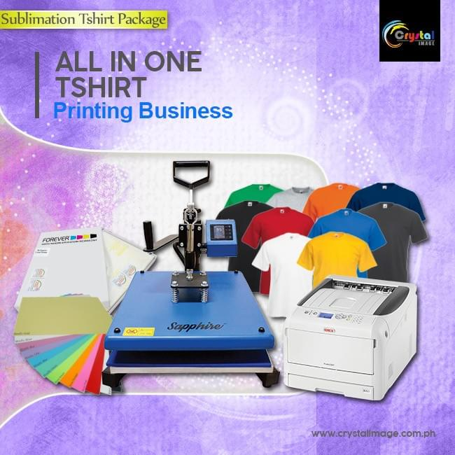 Laser Printer for T-shirt printing business package Philippines