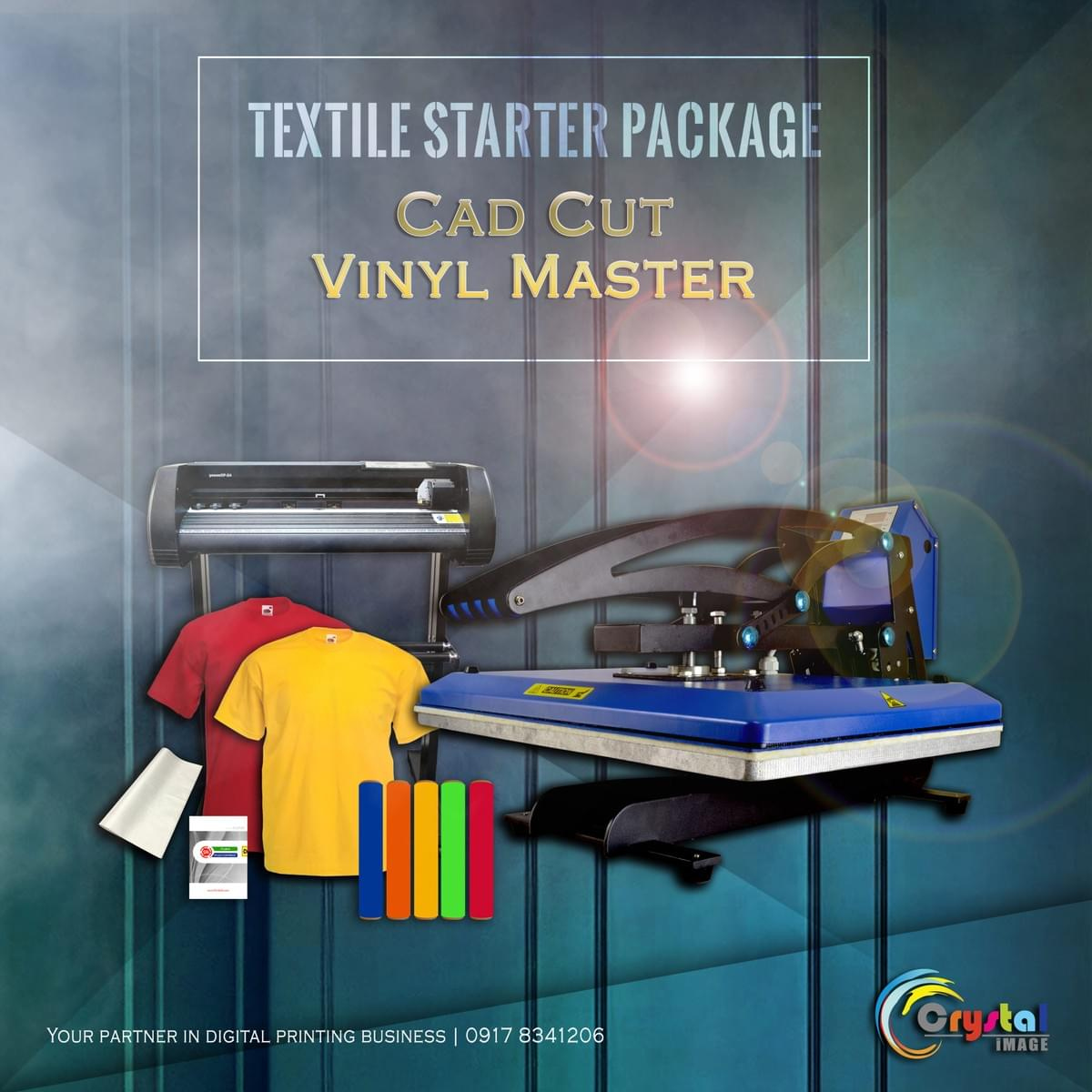 T-Shirt Printing Business Package in the Philippines