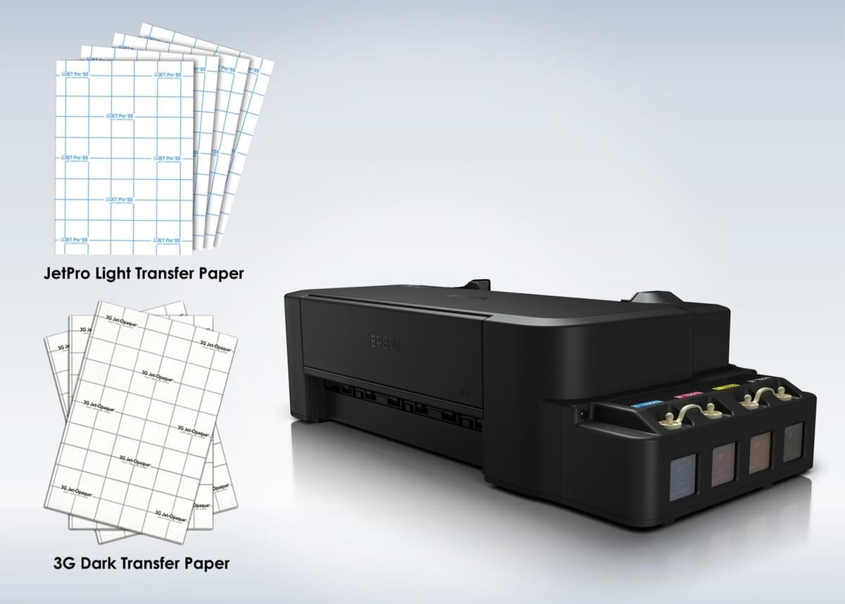 T Shirt Printing using Light and Dark Transfer Paper
