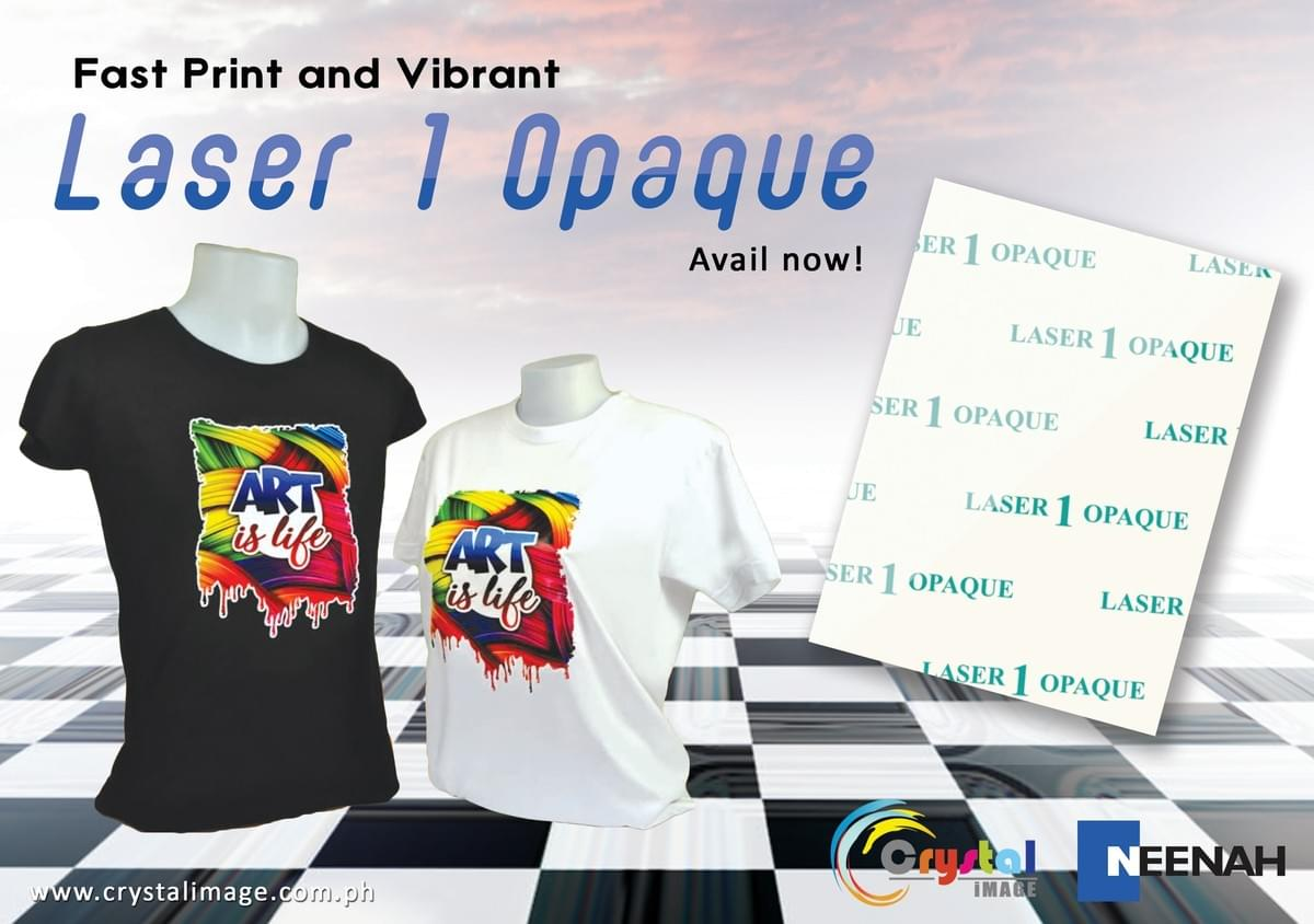 Laser Opaque, Laser printing, Heat transfer, Heat Transfer paper, Best Laser Heat Transfer paper , Best Transfer paper
