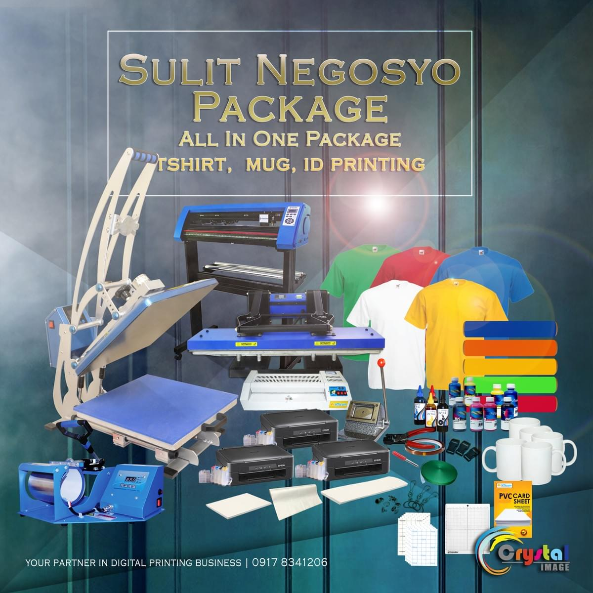 Complete Package for T-shirt printing business in the Philippines