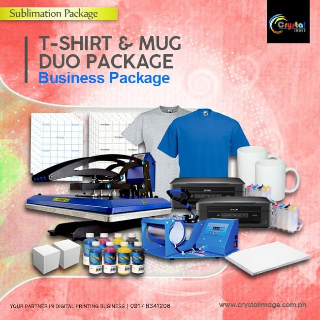 Sublimation Tshirt Package BUDGET LASER T-SHIRT PRINTING BUSINESS