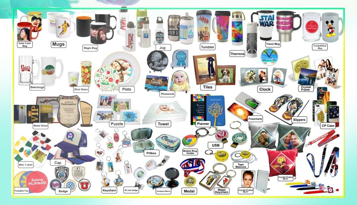 Sublimation Consumables, Digital Printing, Heat Press, Sublimation Printing