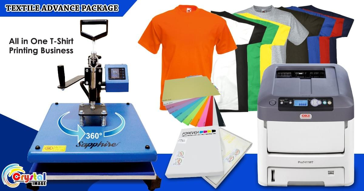 All in one T-Shirt Printing Business Package Philippines