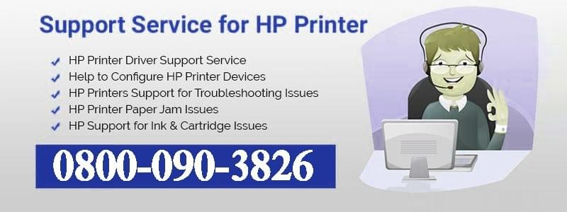 Support Service For HP Printer UK