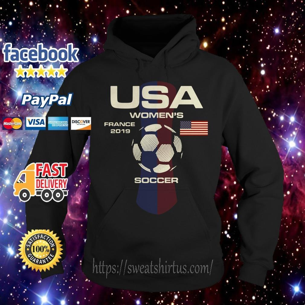 73146596025 USA women s France 2019 soccer shirt