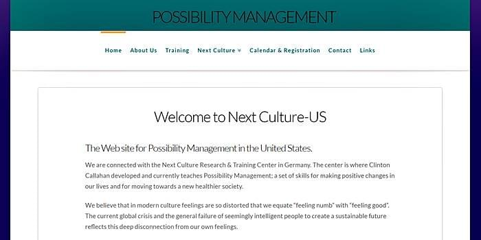 Possibility Managers, StartOver.xyz, Possibility Management in the US
