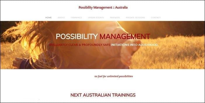 Possibility Managers, StartOver.xyz, Possibility Management in Australia