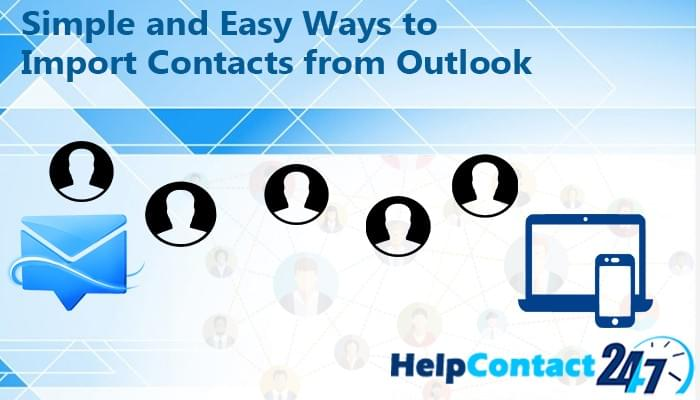 Simple and Easy Ways to Import Contacts from Outlook - Email