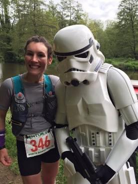 Star Wars surprises in the English countryside!  With Sophie Power.