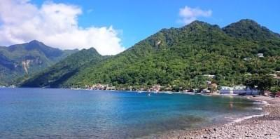 Dominica - Scotts Head Village