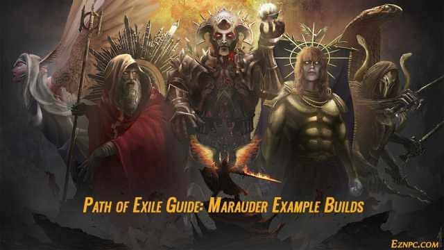 Path of Exile Guide: Marauder Example Builds
