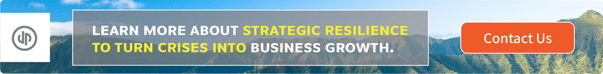 Learn more about strategic Resilience to turn crises into business growth.