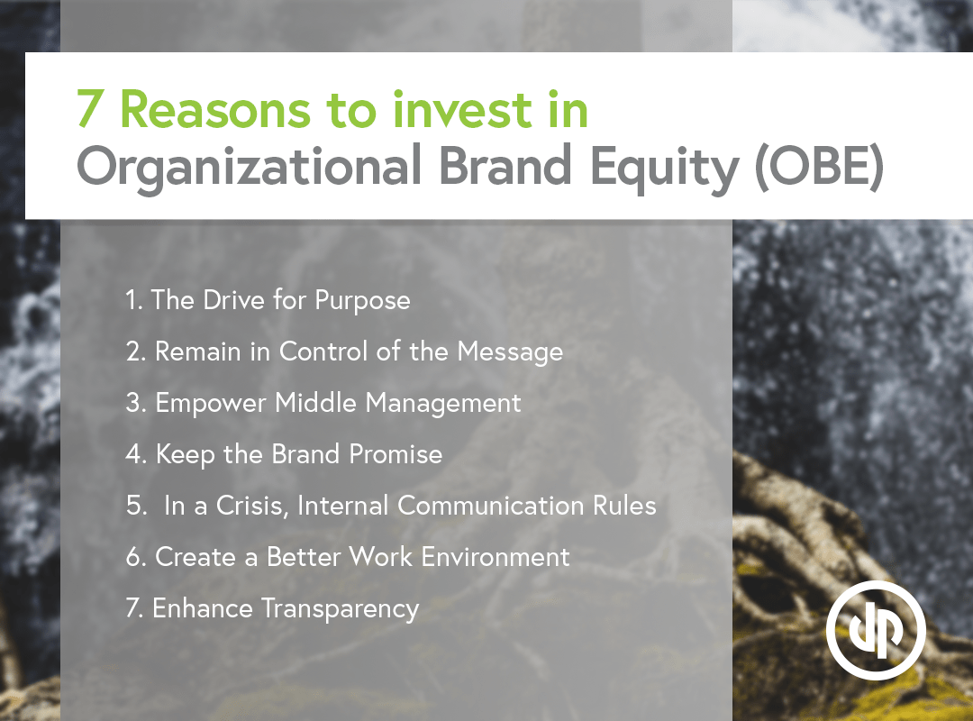 7 Reasons to Invest in Organizational Brand Equity (OBE)