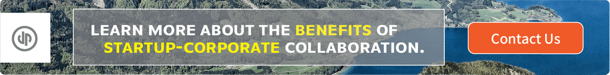 Learn more about the benefits of startup-corporate collaboration