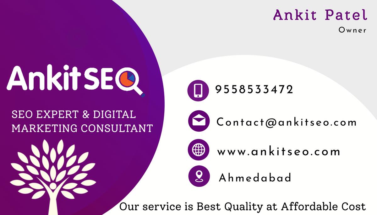 Best seo expert in ahmedabad - seo service in ahmedabad