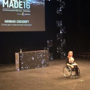 Made Festival, Hannah Cockcroft, Paralympics, 17 Management