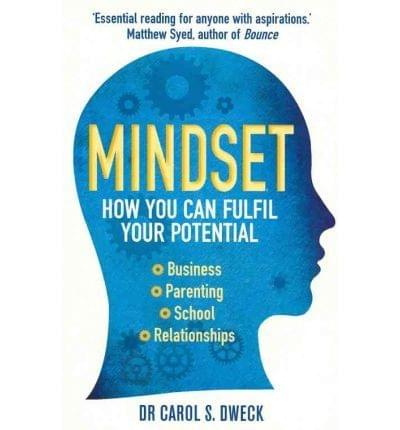 Carol Dweck, Mindset, Fulfil your potential, book cover