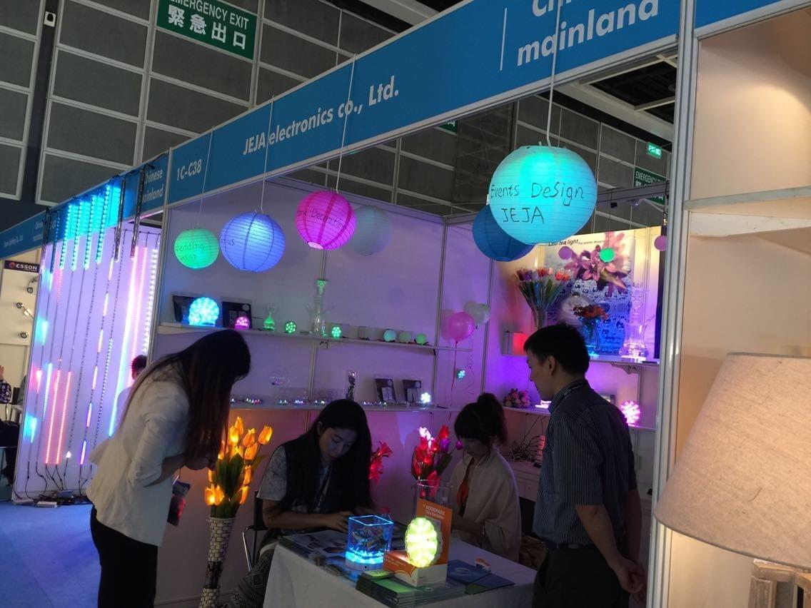 JEJA international on HK lights show