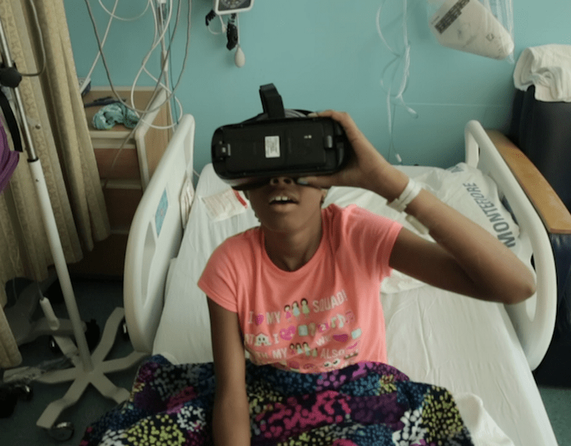 VR Art Reduces Need For Opioids in NY Hospital