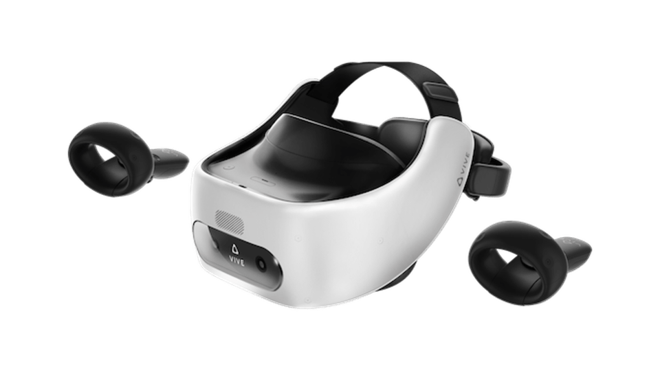Vive's Focus plus standalone, all-in-one, VR HMD for enterprise solutions. VIVE