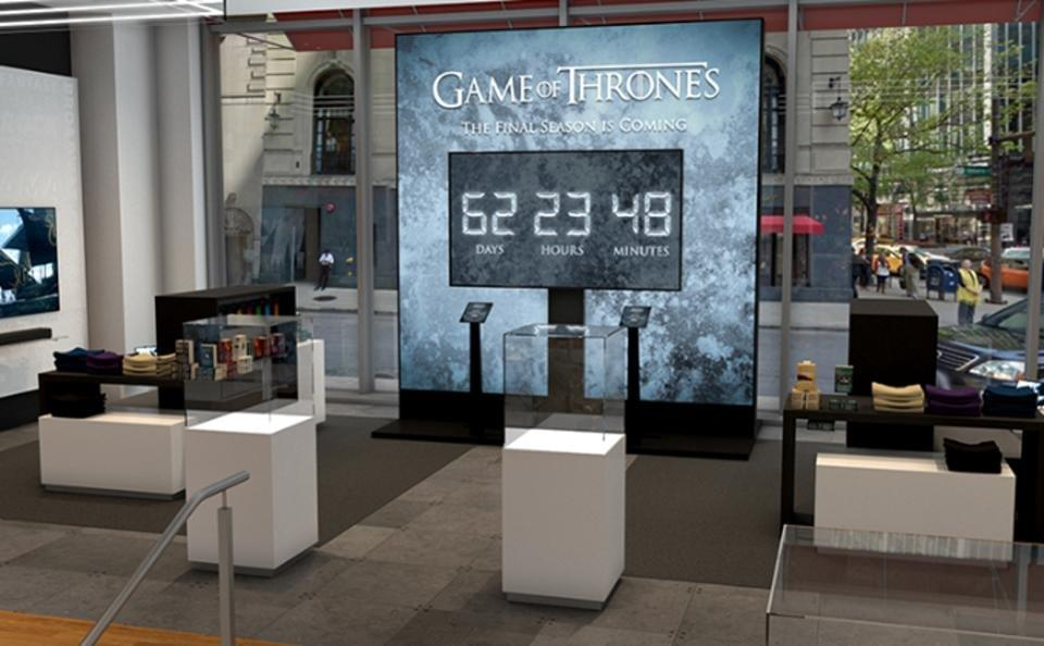 Game Of Thrones, ATT, MagicLeap location based experience introduces the feared White Walkers to your neighborhood store. MAGIC LEAP