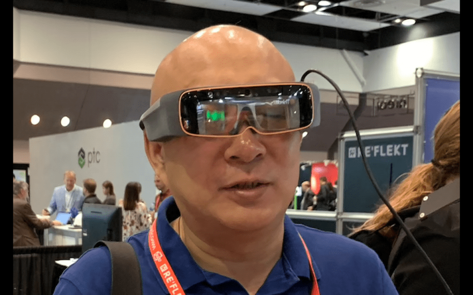 Third Eye Smartglasses for enterprise. CHARLIE FINK