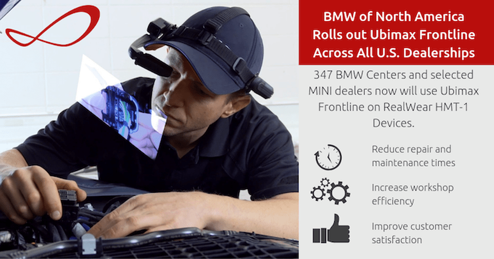 BMW uses AR to enhance every aspect of its business, from assembly to service. BMW