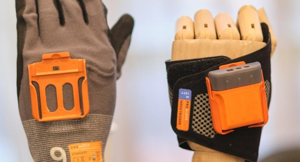 Scanners worn in the wrist and ring controllers have yielded convincing results. Proglove hopes to challenge industry leader Honeywell. JASON GILMORE
