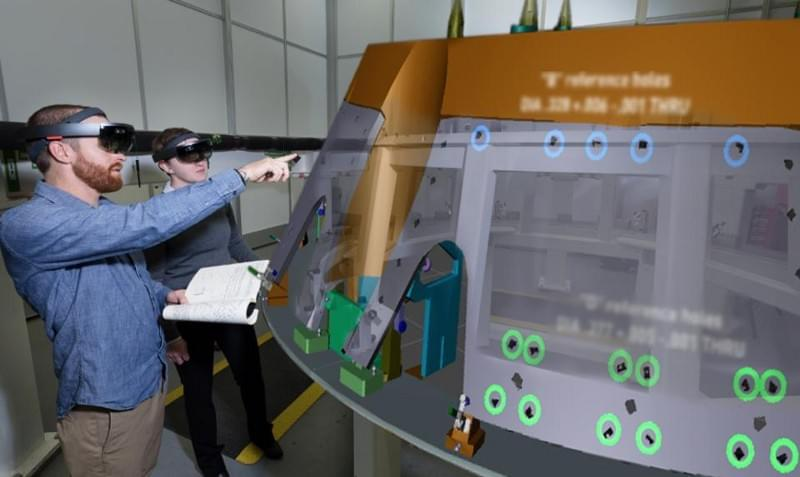 An enhanced image demonstrates how the HoloLens anchors to the physical object so it can accurately … [+] ©2019 LOCKHEED MARTIN CORPORATION. ALL RIGHTS RESERVED.