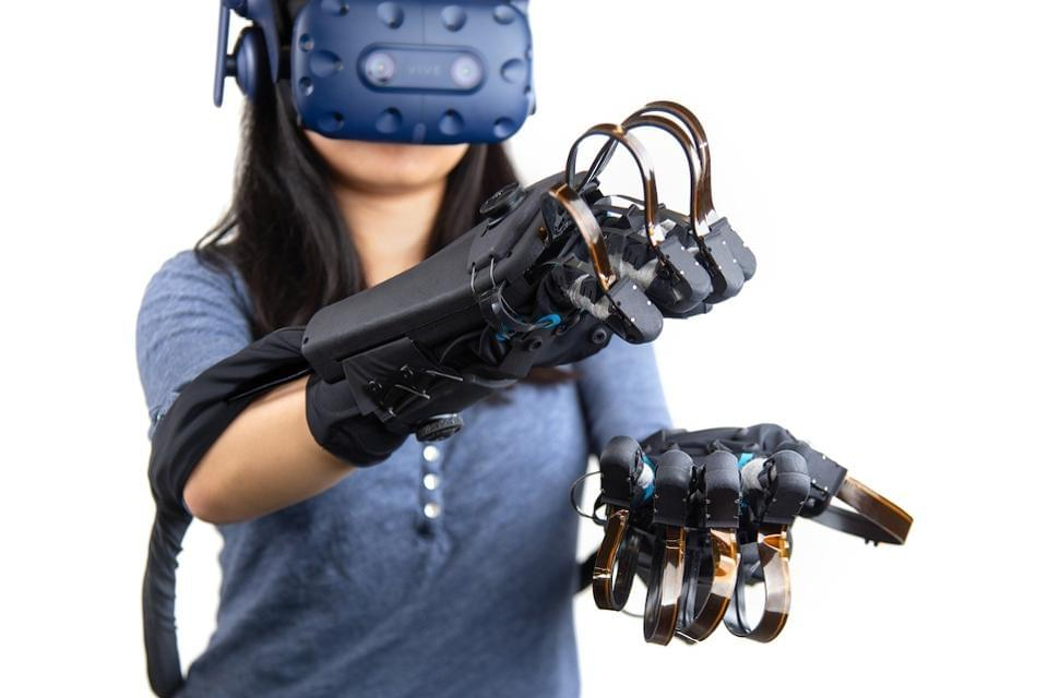 HaptX data gloves are about to be commercialized. HAPTX