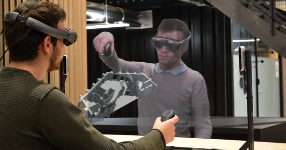 Magic Leap acquired cross-platform telepresence start up Mimesys last year. Mimesys