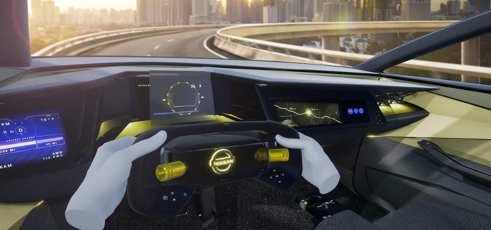 Nissan has been using HaptX to design new cars. HAPTX