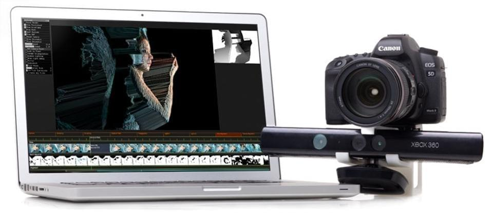 Using DepthKit anyone can now capture impressionistic 3D with a basic SLR, an Xbox Kinnect, and a high end PC.